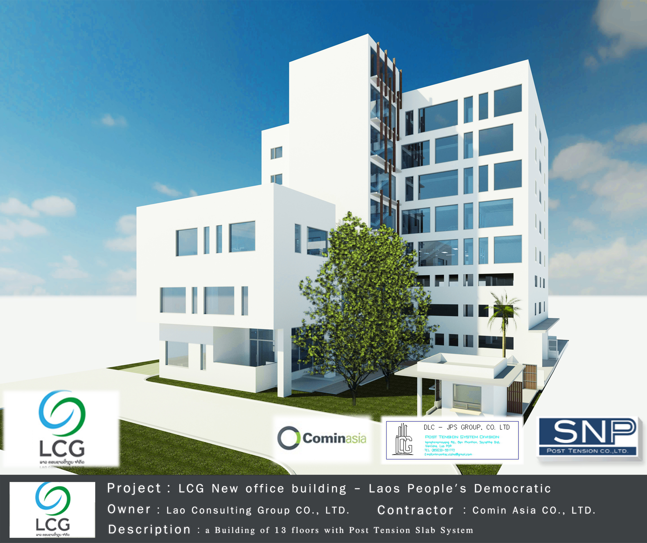 LCG - New Office building